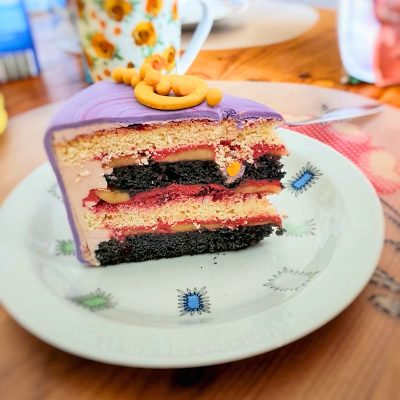 Grinsekatze Torte