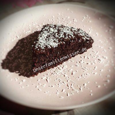 Keto Schoki Kokos Kuchen