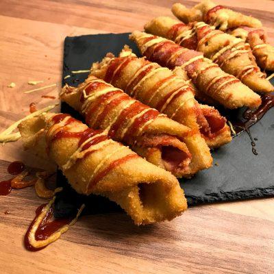frittierte Schinken käse Toast1
